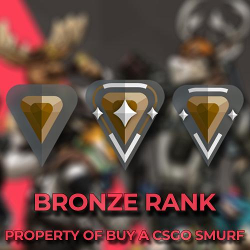 Bronze Rank Valorant Accounts
