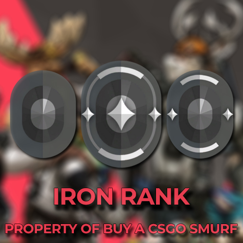 Iron Ranked Valorant Accounts